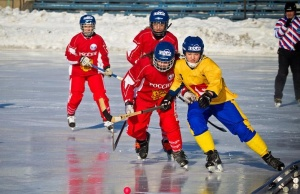Irkutsk Oil Company Sponsors the Women's World Bandy Competition