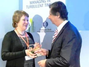 Irkutsk Oil Company won EBRD's 2012 award for Excellence in Environmental and Social Performance