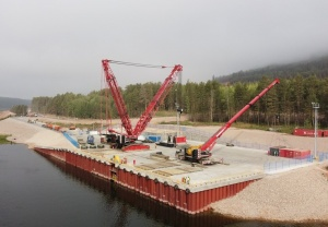 "OOO ""Irkutsk Oil Company"" Built a Berth to Accept the Polymer Plant Equipment"