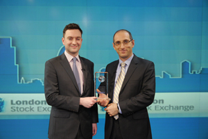 "Irkutsk Oil Company became a winner of ""World Finance"" Award 2012"